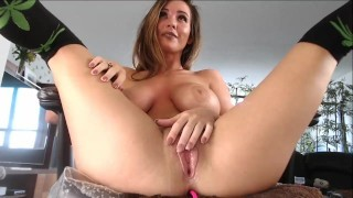 Chaturbate model Alicelighthouse with anal vibrator, cums and squirting